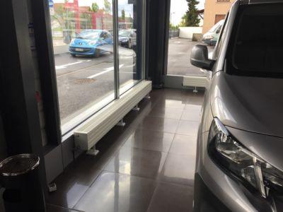 Chauffage radiateur d'un showroom (bis)